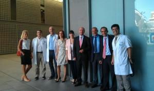 Participantes a la sesión interdepartamental de obesidad al Hospital Universitario Quirón-Dexeus